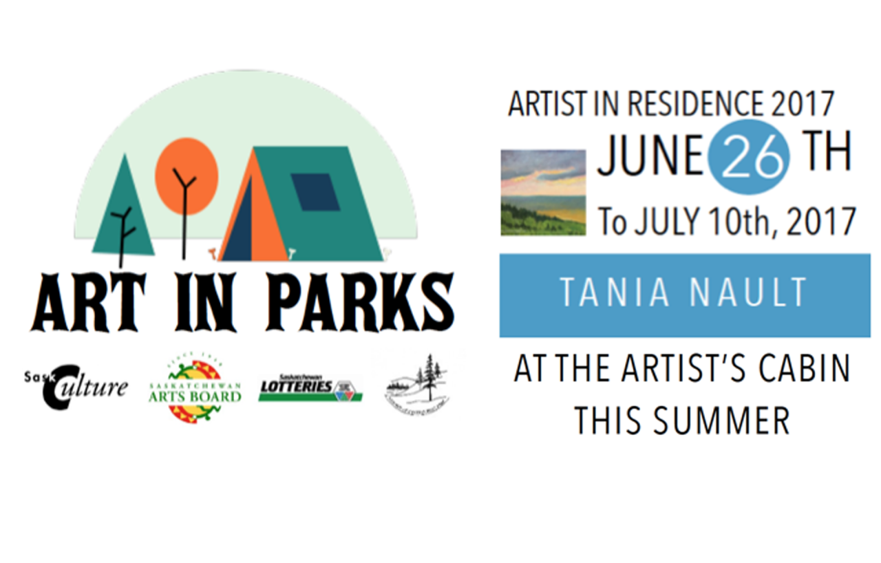 New Artist-in-Residence Tania Nault is here!